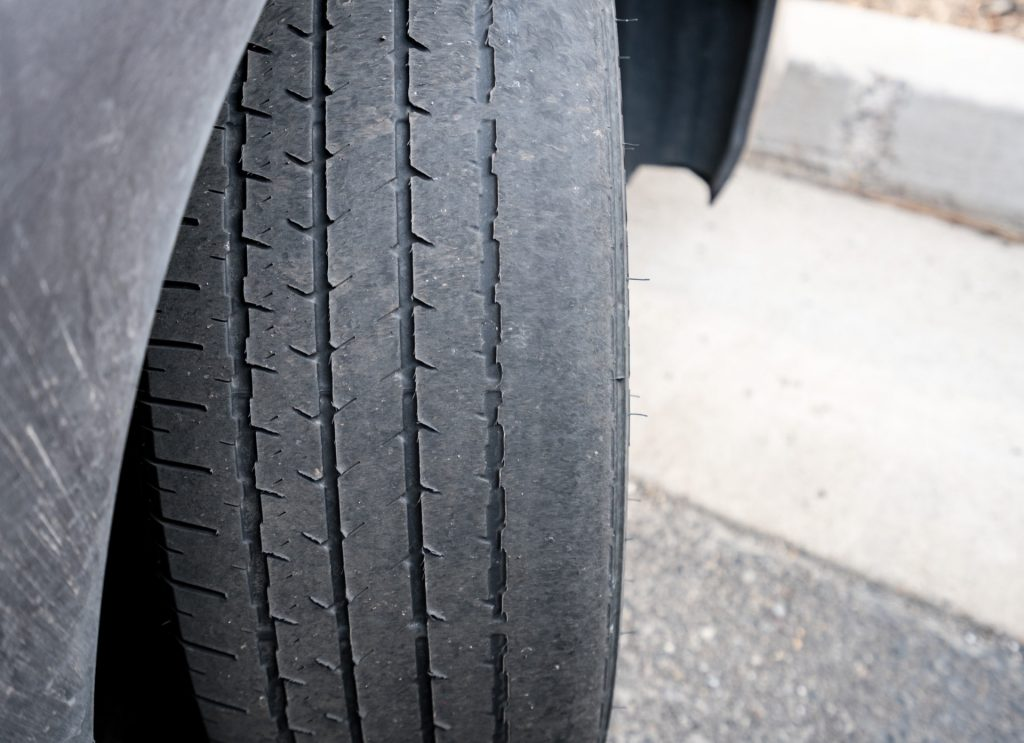 Bald tires that need to be replaced